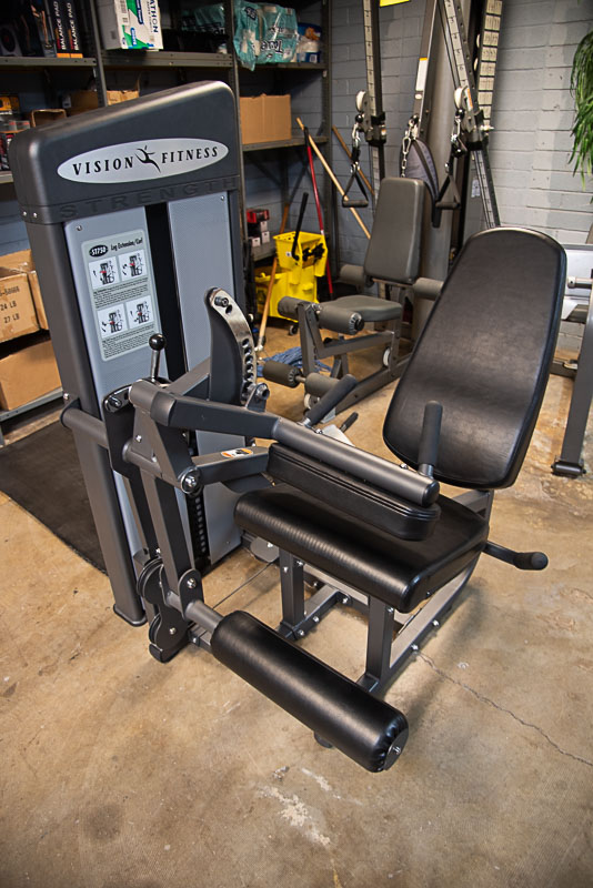Vision Fitness ST750 Leg Ext / Curl