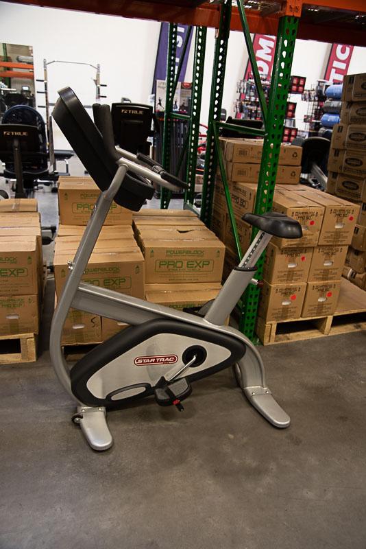 Star Trac Pro Upright Bike - Self Gen