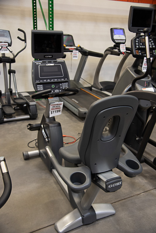 Cybex 750A Recumbent Bike (Self Gen)