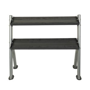 Fitness Products Direct - 3 Tier Dumbbell/ Kettlebell Rack