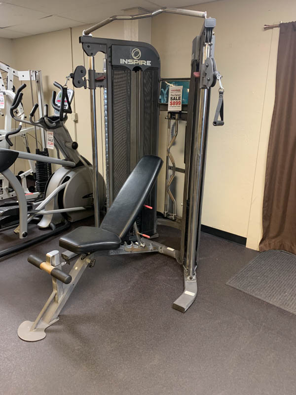 Inspire FT1 Functional Trainer w/ FI Bench